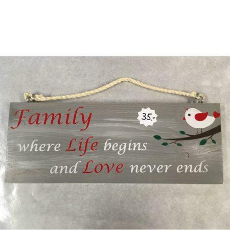 panneau famille