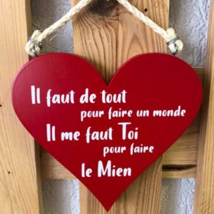 message d'amour