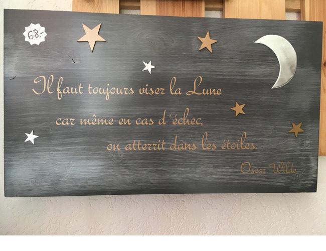 déco citation Oscar Wilde