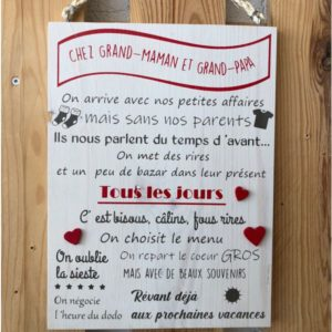 cadeau pour grands-parents