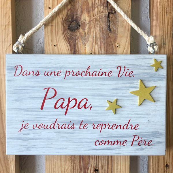 tableau poème pour papa