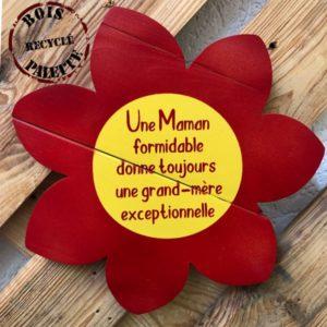 décoration en bois maman